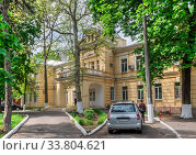 Купить «Psychoneurological center in Odessa, Ukraine», фото № 33804621, снято 30 апреля 2020 г. (c) Sergii Zarev / Фотобанк Лори