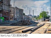 Купить «Old historic house in Odessa, Ukraine», фото № 33804649, снято 3 мая 2020 г. (c) Sergii Zarev / Фотобанк Лори