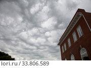 Купить «Storm Clouds and Building in Moose Jaw Canada», фото № 33806589, снято 1 июня 2020 г. (c) age Fotostock / Фотобанк Лори