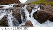 Купить «Wasserfall, Fagridalur, Ostisland, Island, Europa», фото № 33807597, снято 2 июня 2020 г. (c) age Fotostock / Фотобанк Лори