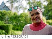 Купить «Malaysia, Malaisie, island, Langkawi, Malacca, femme malaisienne, Malaysische Frau, Malaysian woman, portrait, Porträt», фото № 33809101, снято 5 июня 2020 г. (c) age Fotostock / Фотобанк Лори