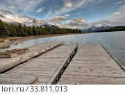 Купить «Maligne Lake Jasper Alberta scenic view beauty», фото № 33811013, снято 11 июля 2020 г. (c) age Fotostock / Фотобанк Лори