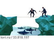 Купить «Concept of unethical business competition», фото № 33818197, снято 4 июня 2020 г. (c) Elnur / Фотобанк Лори