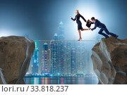 Купить «Concept of unethical business competition», фото № 33818237, снято 4 июля 2020 г. (c) Elnur / Фотобанк Лори