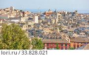The old town of Genova (2019 год). Стоковое фото, фотограф Роман Сигаев / Фотобанк Лори