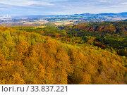 Mountains autumn landscape. Стоковое фото, фотограф Яков Филимонов / Фотобанк Лори