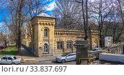 Купить «Old historic house in Odessa, Ukraine», фото № 33837697, снято 17 марта 2020 г. (c) Sergii Zarev / Фотобанк Лори