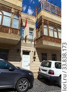 Купить «Посольство Польши в Баку. Азербайджан», фото № 33838173, снято 23 сентября 2019 г. (c) Евгений Ткачёв / Фотобанк Лори