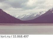 Купить «Ocean coast in the Alaska», фото № 33868497, снято 1 июня 2020 г. (c) easy Fotostock / Фотобанк Лори
