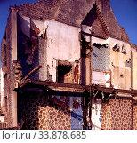 Derelict Victorian House, Newham, London, England. Стоковое фото, фотограф Alex Bartel / age Fotostock / Фотобанк Лори