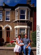Family, Plaistow, Newham, London, England. Стоковое фото, фотограф Alex Bartel / age Fotostock / Фотобанк Лори