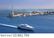 Купить «Italy, Sicily Island, Mesina City, Lighthouse, Mesina Strait», фото № 33882709, снято 2 июня 2020 г. (c) age Fotostock / Фотобанк Лори