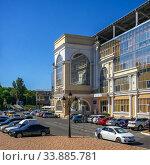 Купить «Chernomorets stadium in Odessa, Ukraine», фото № 33885781, снято 16 сентября 2019 г. (c) Sergii Zarev / Фотобанк Лори