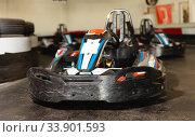 Купить «Picture of driving sports cars for carting», фото № 33901593, снято 18 марта 2019 г. (c) Яков Филимонов / Фотобанк Лори