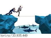 Купить «Concept of unethical business competition», фото № 33935449, снято 5 июля 2020 г. (c) Elnur / Фотобанк Лори