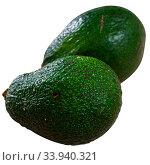 Купить «Image of ripe avocado, healthy food», фото № 33940321, снято 2 июля 2020 г. (c) Яков Филимонов / Фотобанк Лори