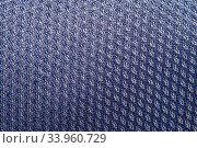 Купить «Texture background of polyester fabric.», фото № 33960729, снято 16 ноября 2015 г. (c) Nataliia Zhekova / Фотобанк Лори