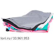 Купить «Colourful men's Boxer briefs isolated on a white background», фото № 33961953, снято 14 июля 2020 г. (c) age Fotostock / Фотобанк Лори