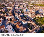 Купить «Aerial view of Marmande, France», фото № 33967681, снято 18 июля 2019 г. (c) Яков Филимонов / Фотобанк Лори