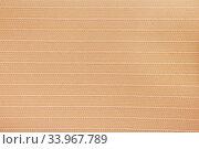 Купить «Fabric blind curtain texture background», фото № 33967789, снято 23 января 2017 г. (c) Nataliia Zhekova / Фотобанк Лори