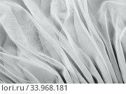 chiffon fabric background texture. Стоковое фото, фотограф Nataliia Zhekova / Фотобанк Лори