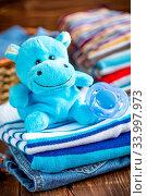 Купить «Baby clothes», фото № 33997973, снято 8 июля 2020 г. (c) age Fotostock / Фотобанк Лори