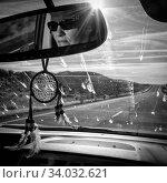 USA, Oregon, Highway 20, near Burns, Стоковое фото, фотограф Christian Heeb / age Fotostock / Фотобанк Лори