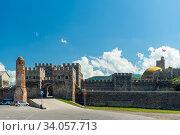 Akhaltsikhe, Georgia - June 13 2018: View of the Rabat Fortress in Georgia. Стоковое фото, фотограф Константин Лабунский / Фотобанк Лори