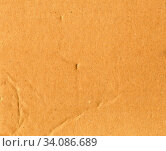 Купить «Brown corrugated cardboard texture useful as a background», фото № 34086689, снято 6 июля 2020 г. (c) easy Fotostock / Фотобанк Лори