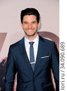 Ben Barnes at the HBO's 'Westworld' Season 3 premiere held at the TCL Chinese Theatre in Hollywood, USA on March 5, 2020. Стоковое фото, фотограф Zoonar.com/Lumeimages / age Fotostock / Фотобанк Лори
