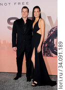 Lisa Joy and Jonathan Nolan at the HBO's 'Westworld' Season 3 premiere held at the TCL Chinese Theatre in Hollywood, USA on March 5, 2020. Стоковое фото, фотограф Zoonar.com/Lumeimages / age Fotostock / Фотобанк Лори