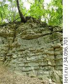 Jura limestone shifts of the Swabian Alb in Germany. Стоковое фото, фотограф Hans-Joachim Schneider / easy Fotostock / Фотобанк Лори
