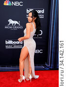 Becky G at the 2019 Billboard Music Awards held at the MGM Grand Garden Arena in Las Vegas, USA on May 1, 2019. Стоковое фото, фотограф Zoonar.com/Lumeimages.com / age Fotostock / Фотобанк Лори