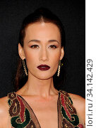 Maggie Q at the 2019 E! People's Choice Awards held at the Barker Hangar in Santa Monica, USA on November 10, 2019. Стоковое фото, фотограф Zoonar.com/Lumeimages.com / age Fotostock / Фотобанк Лори