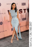 Thandie Newton at the HBO's 'Westworld' Season 3 premiere held at the TCL Chinese Theatre in Hollywood, USA on March 5, 2020. Стоковое фото, фотограф Zoonar.com/Lumeimages / age Fotostock / Фотобанк Лори