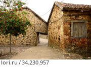 Verdeña. Montaña Palentina, La Pernia, Palencia province, Castilla y Leon, Spain. Стоковое фото, фотограф J M Barres / age Fotostock / Фотобанк Лори