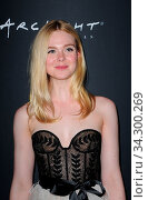 Elle Fanning at the 2018 LA Film Festival screening of 'Galveston' held at the ArcLight Culver City in Culver City, USA on September 23, 2018. Стоковое фото, фотограф Zoonar.com/Lumeimages.com / age Fotostock / Фотобанк Лори