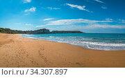 Panoramic view of the Gerakas Beach which is a sea turtle nesting site summer, Zante Island, Greece. Стоковое фото, фотограф Zoonar.com/Pawel Opaska / easy Fotostock / Фотобанк Лори