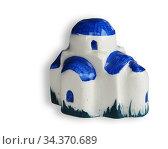 Handcrafted souvenir of house made in ceramic. Стоковое фото, фотограф Vitanovski Jovanche / easy Fotostock / Фотобанк Лори
