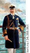 Behrens Adolphe - Kaiser Wilhelm II Als Grossadmiral - German School... Редакционное фото, фотограф Artepics / age Fotostock / Фотобанк Лори