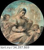 Ellenrieder Marie - Maria Beim Studium - German School - 19th Century. Редакционное фото, фотограф Artepics / age Fotostock / Фотобанк Лори