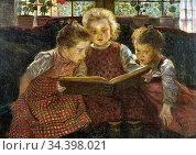 Firle Walther - the Fairy Tale - German School - 19th and Early 20th... Стоковое фото, фотограф Artepics / age Fotostock / Фотобанк Лори