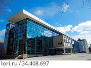 Theater, Volkshochschule, Musik-Schule, Stormarn Magie, KUB in schlechtem... Стоковое фото, фотограф Zoonar.com/Zoonar/Elke Hötzel / easy Fotostock / Фотобанк Лори