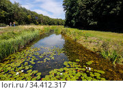 Duisburg-North Landscape Park, Ruhr Area, North Rhine-Westphalia, Germany, Europe. Редакционное фото, агентство Caro Photoagency / Фотобанк Лори