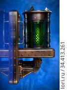 Светильник в стиле стимпанк. Стоковое фото, фотограф Валерий Александрович / Фотобанк Лори