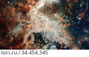 Nebula and stars in deep space, glowing mysterious universe. Elements... Стоковое фото, фотограф Zoonar.com/Irina Dmitrienko / easy Fotostock / Фотобанк Лори