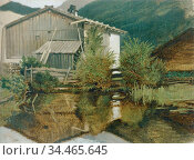 Spitzweg Carl - Die Mühle Von Gern - German School - 19th and Early... Редакционное фото, фотограф Artepics / age Fotostock / Фотобанк Лори