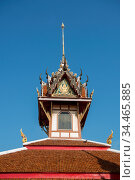 The wat Hua Hin in the Town of Hua Hin in the Province of Prachuap... Стоковое фото, фотограф Zoonar.com/URS FLUEELER / age Fotostock / Фотобанк Лори