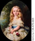 Winterhalter Franz Xavier - Luise Von Boden Princess Biron of Curland... Редакционное фото, фотограф Artepics / age Fotostock / Фотобанк Лори