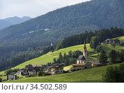 Nessano / Nasen, Region du Trentin-Haut-Adige, Tyrol du Sud, Italie... Стоковое фото, фотограф Christian Goupi / age Fotostock / Фотобанк Лори
